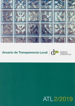 ANUARIO DE TRANSPARENCIA LOCAL, 2019