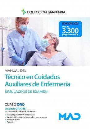 Manual Del Tecnico En Cuidados Auxiliares De Enfermeria Test Llibre En Paper 9788414242766 Llibreria De La Diputacio