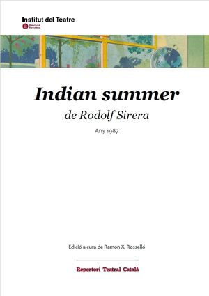 INDIAN SUMMER DE RODOLF SIRERA